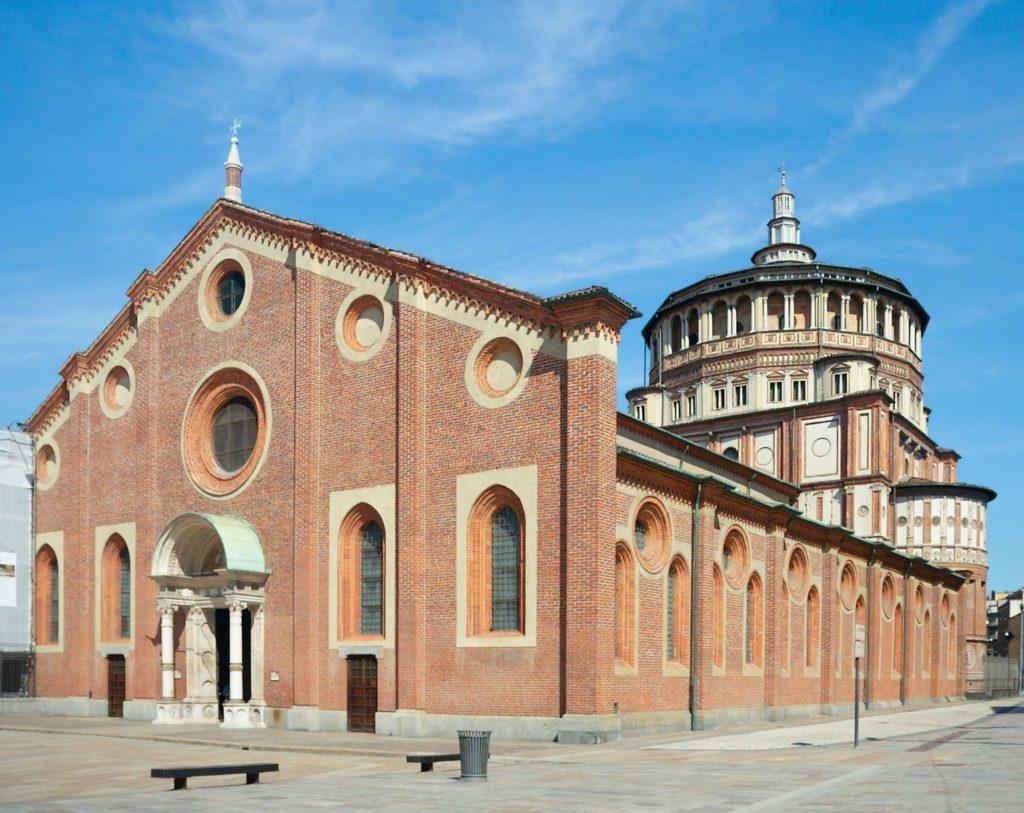 Kostel Santa Maria delle Grazie v Miláně | tosha11/123RF.com