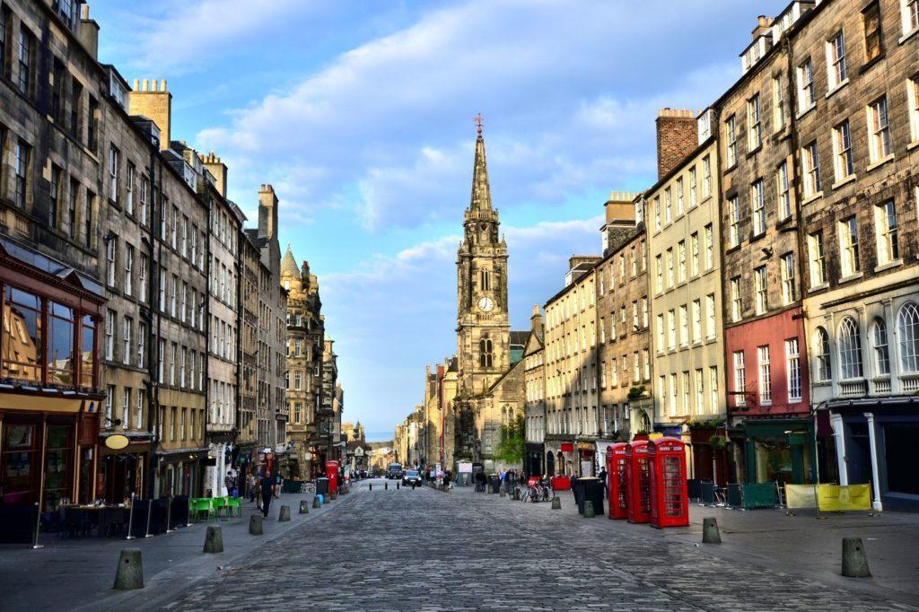 Královská míle v Edinburghu   jenifoto/123RF.com