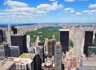Letecký pohled na New York v USA | rabbit75123/123RF.com