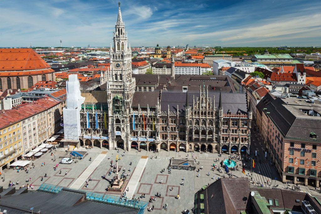 Marienplatz v Mnichově   dimol/123RF.com