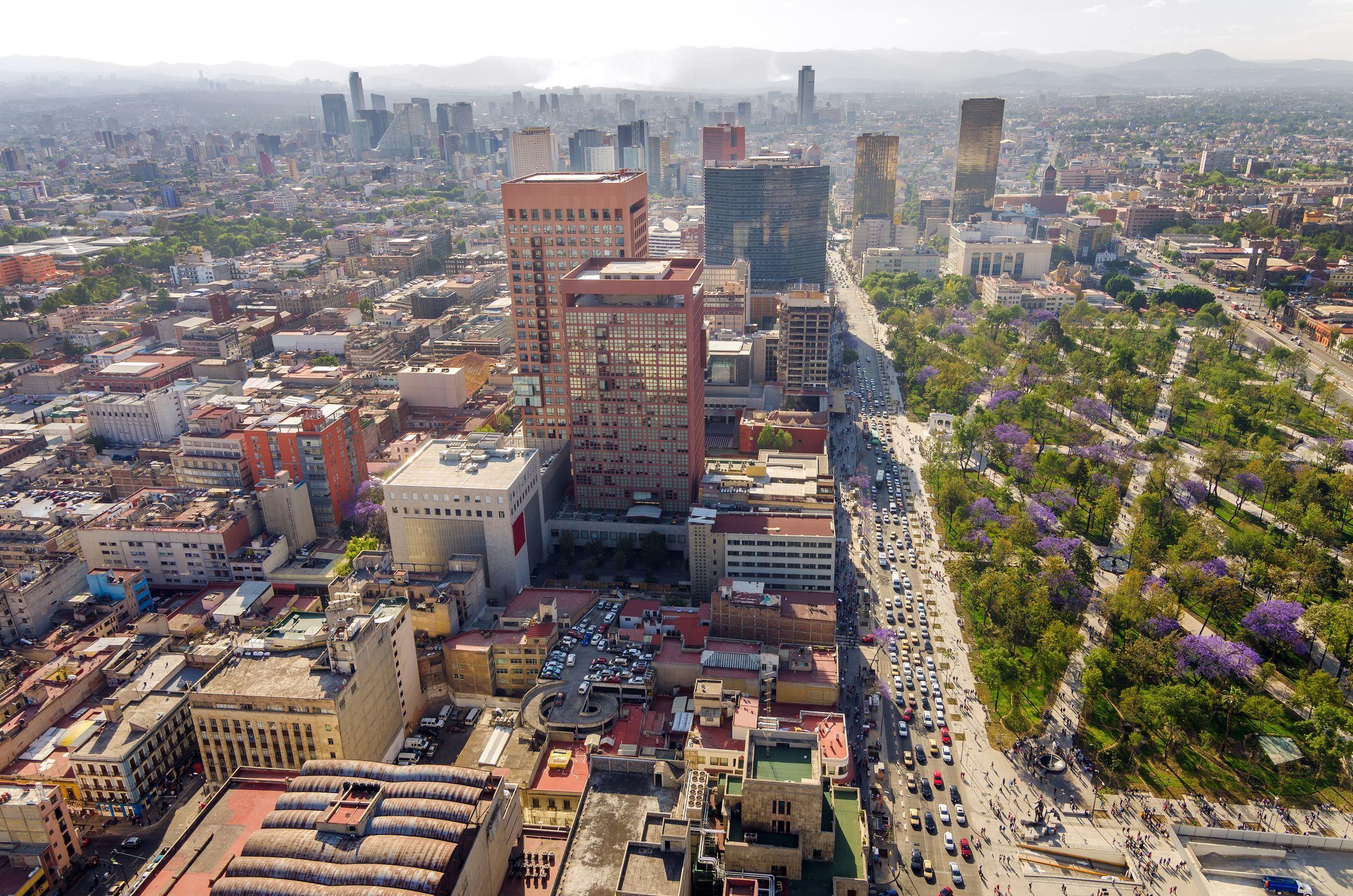 Panoráma města Mexico City | jkraft5/123RF.com