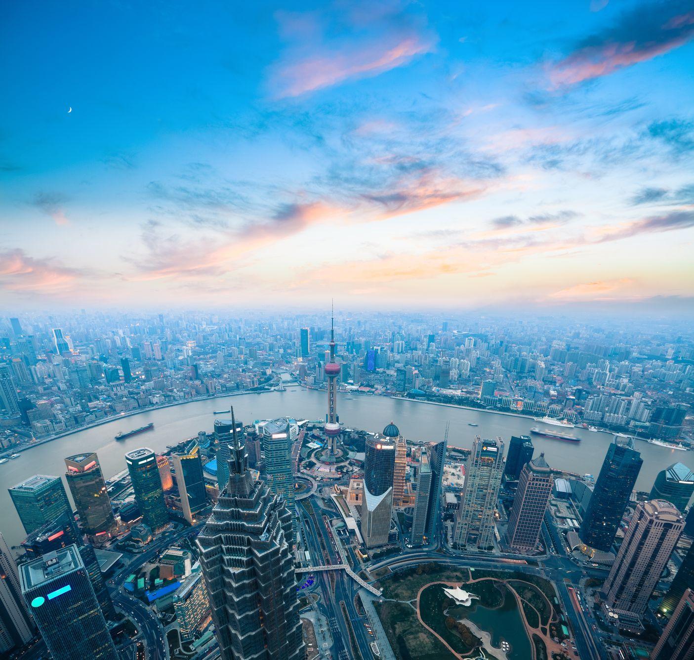 Panorama Šanghaje   chuyu/123RF.com