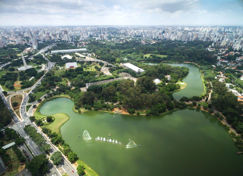 Park Ibirapuera v Sao Paulo | filipefrazao/123RF.com
