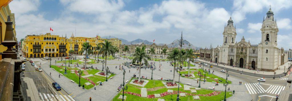 Plaza de Armas v Limě   pxhidalgo/123RF.com