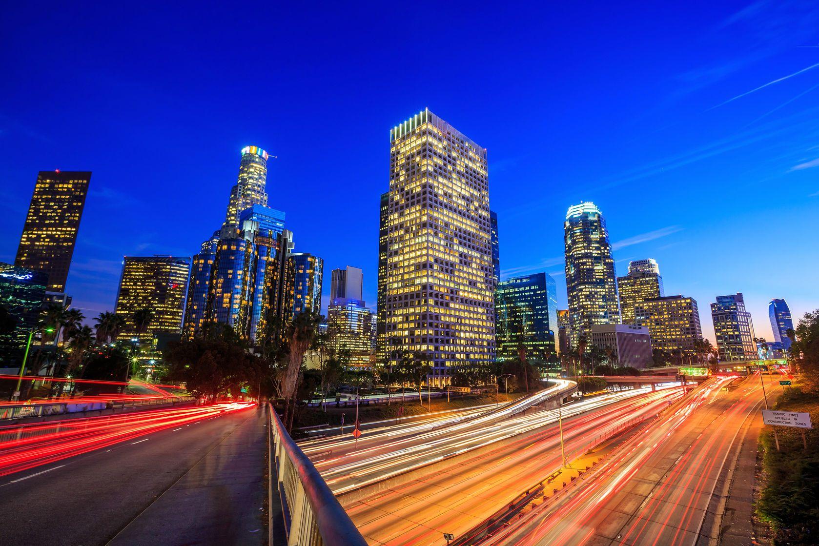 Rušné město Los Angeles v USA | f11photo/123RF.com