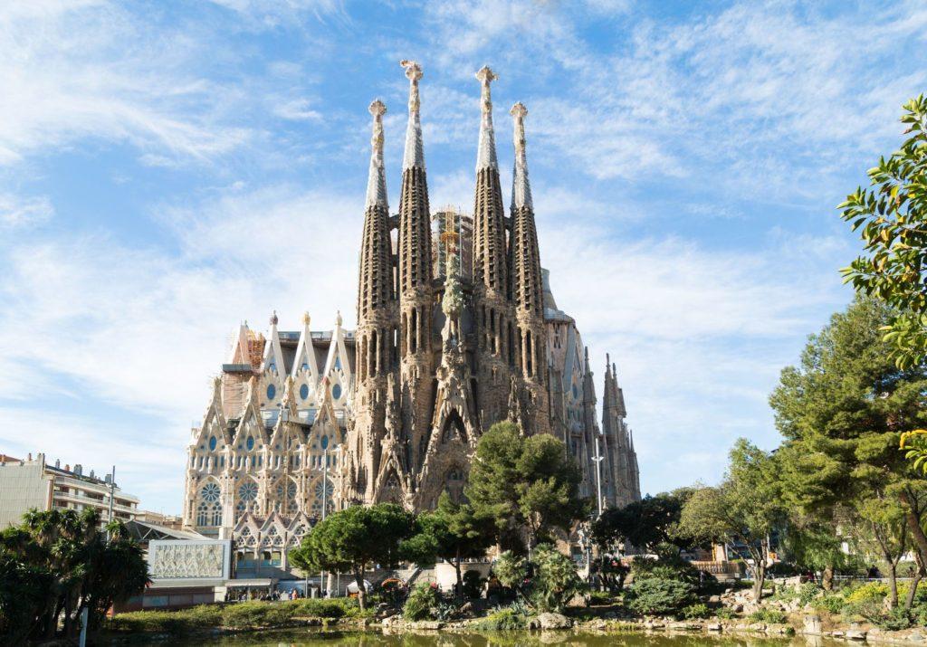 Chrám Sagrada Familia v Barceloně | edu1971/123RF.com