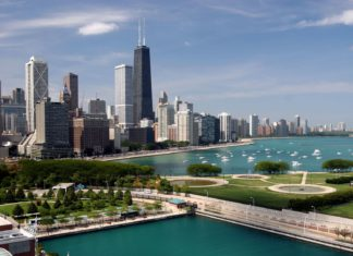 Panorama Chicaga v USA | tsz01/123RF.com