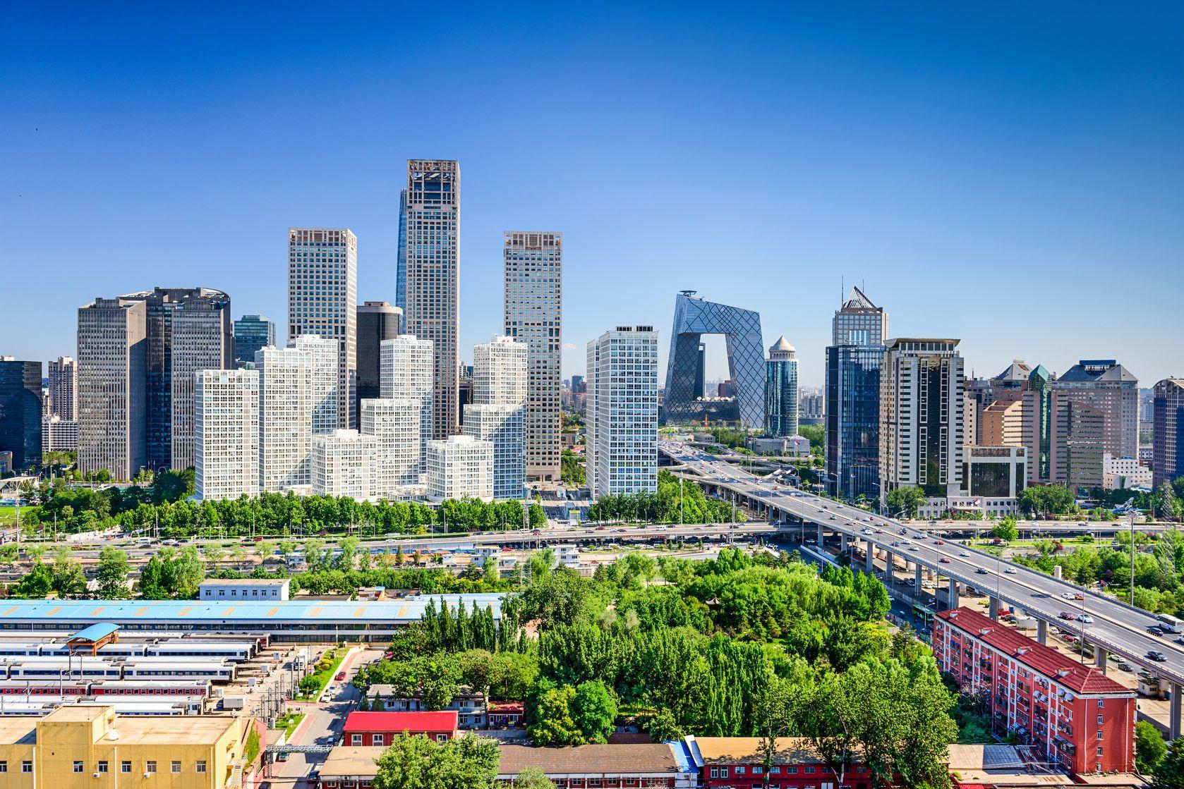 Panorama Pekingu v Číně   sepavo/123RF.com