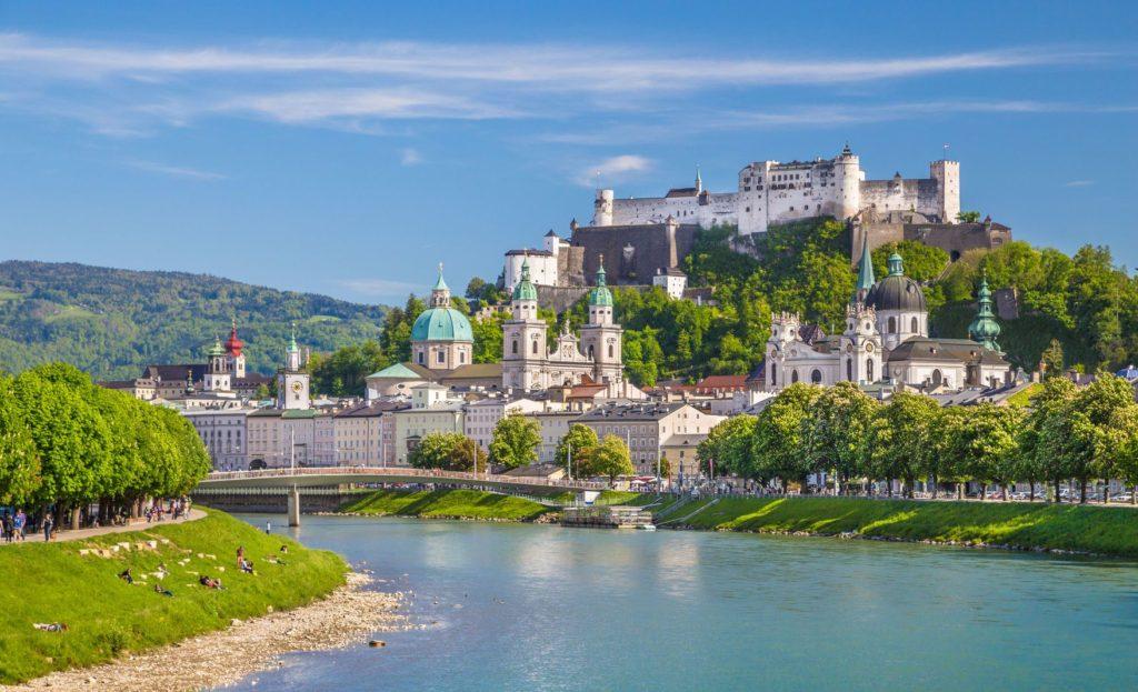 Pevnost Hohensalzburg v Salzburgu | jakobradlgruber/123RF.com