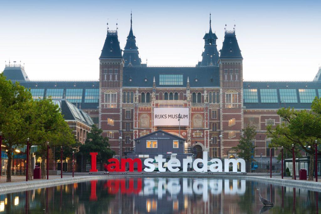 Rijks muzeum s nápisem IAMsterdam | dennisvdwater/123RF.com