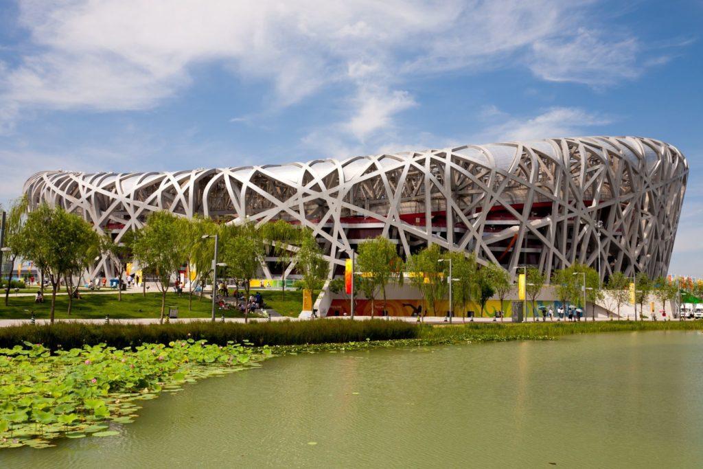 Stadion Ptačí hnízdo v Pekingu   hanhanpeggy/123RF.com