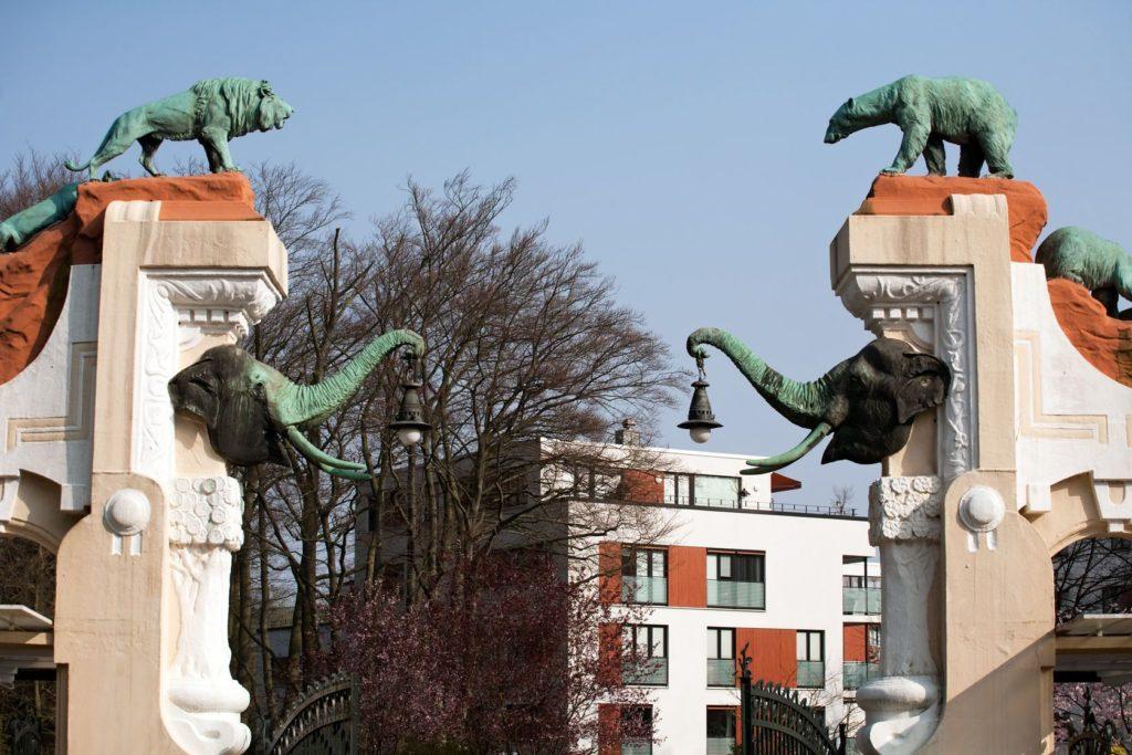 Brána Zoo Hagenbecks Tierpark v Hamburku | wildcat78/123RF.com