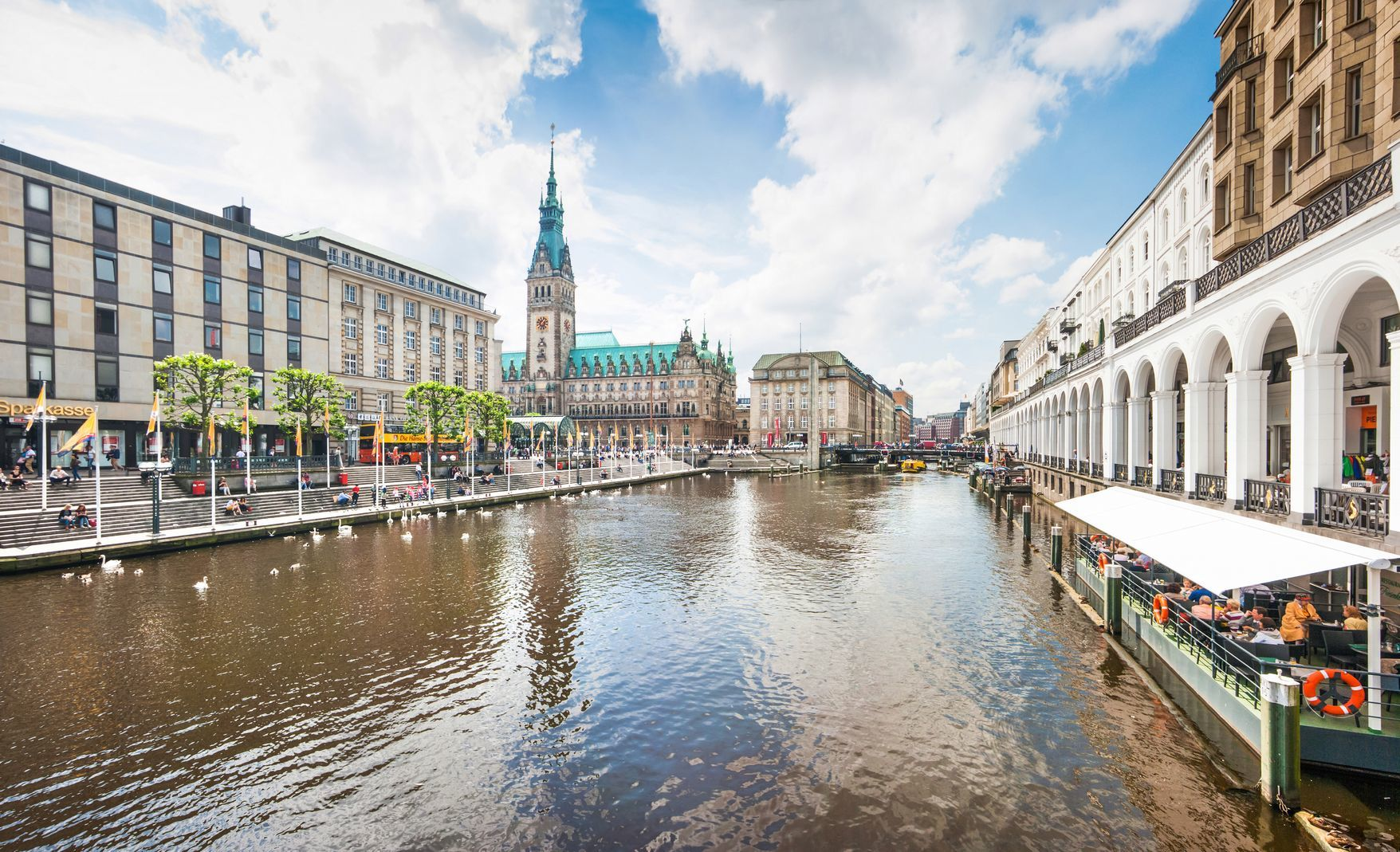 Centrum města Hamburk | jakobradlgruber/123RF.com