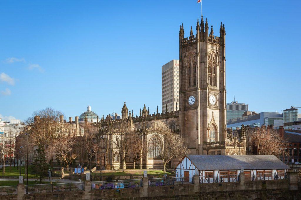 Katedrála v Manchesteru   sakhaphotos/123RF.com