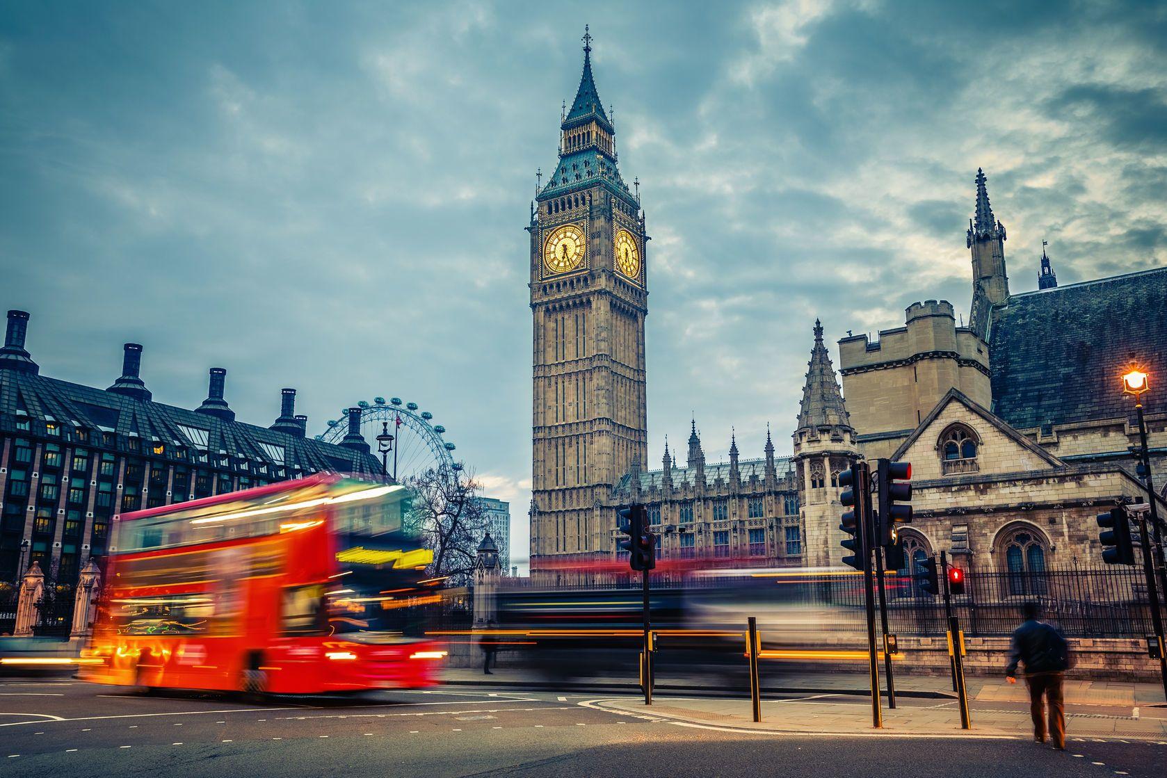 Londýn v časných ranních hodinách | sborisov/123RF.com