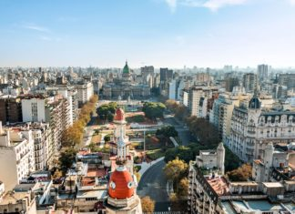 Panorama Buenos Aires v Argentině | fotoquique/123RF.com