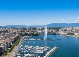 Panorama Ženevy ve Švýcarsku | sam74100/123RF.com