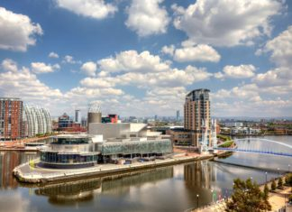 Panoramatický výhled na Manchester | debu55y/123RF.com