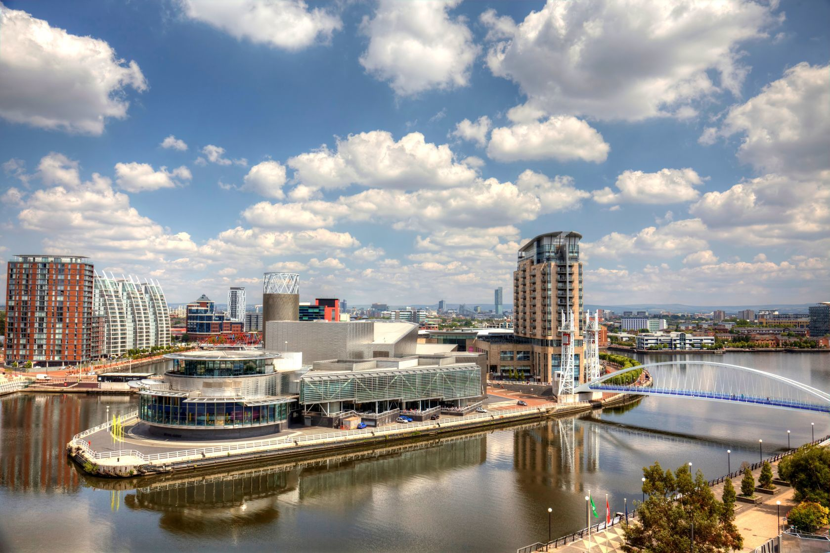 Panoramatický výhled na Manchester   debu55y/123RF.com