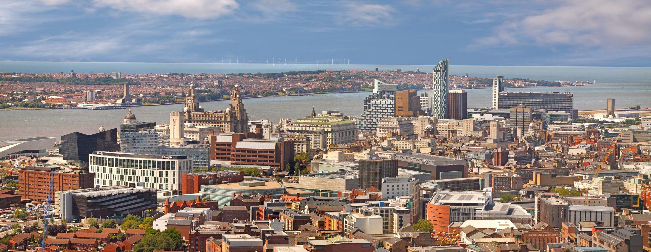 Pohled na Liverpool | gilbertdestoke/123RF.com