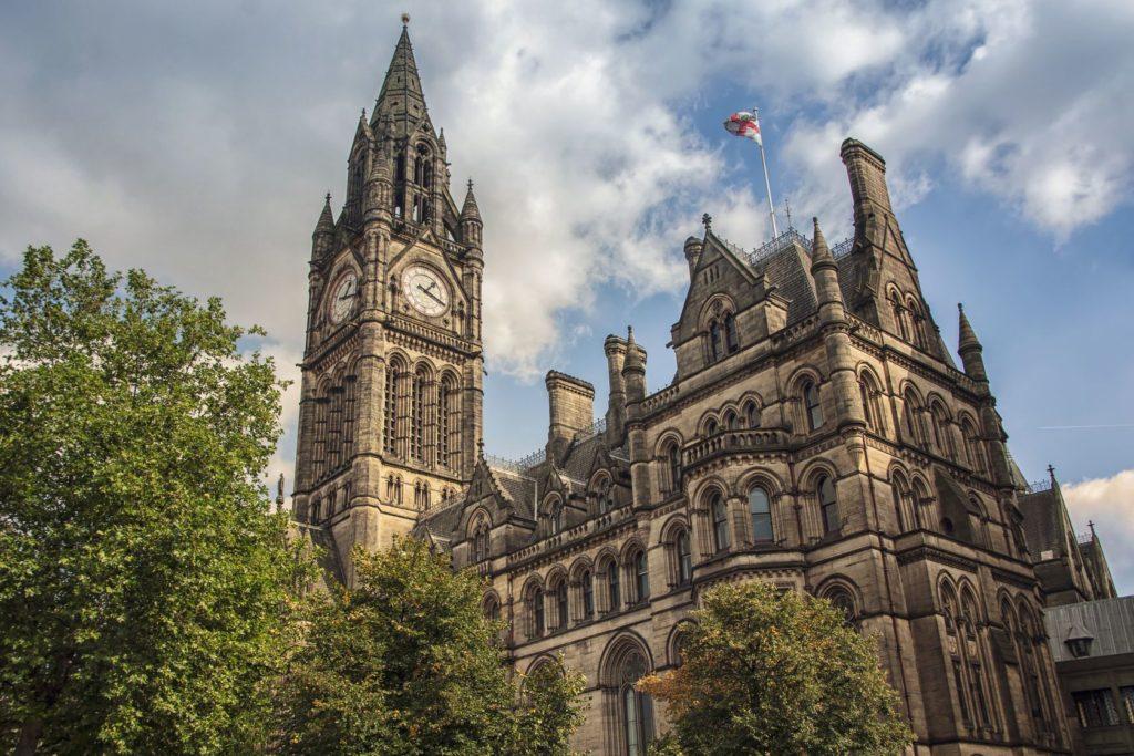 Town Hall v Manchesteru   madrugadaverde/123RF.com