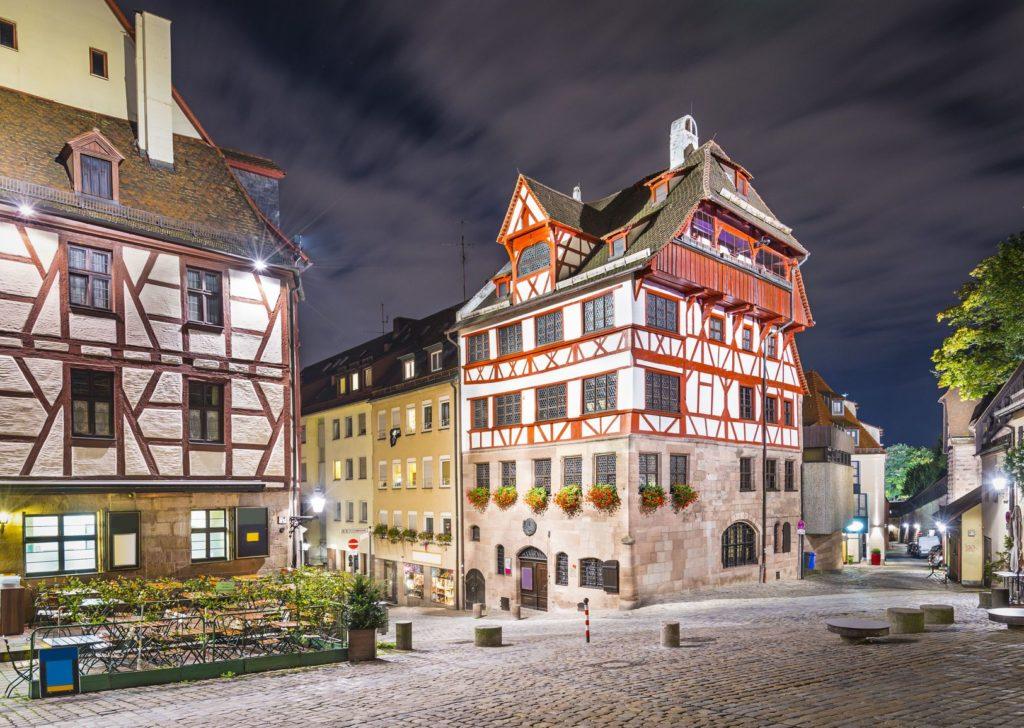 Dům Albrechta Dürera v Norimberku | sepavo/123RF.com
