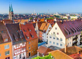 Městské panorama v Norimberku | sepavo/123RF.com