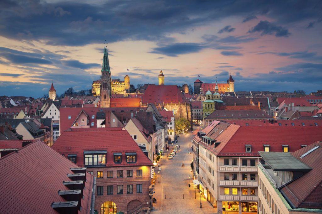 Staré historické centrum Norimberku | rudi1976/123RF.com