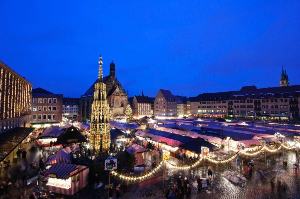 Vánoční trhy v Norimberku | hiro1775/123RF.com