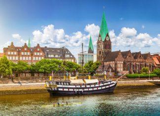 Historické pístavní město Brémy v Německu | jakobradlgruber/123RF.com