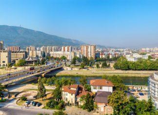Panorama Skopje v Makedonii | elec/123RF.com