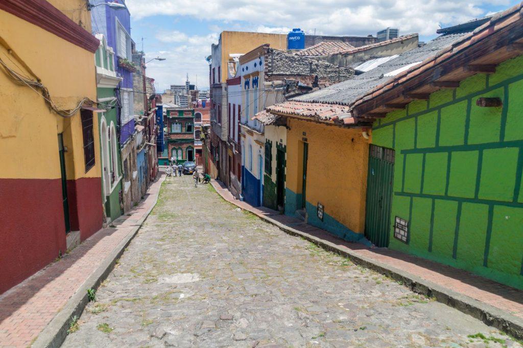 Historická čtvrť La Candelaria v Bogotě | mathess/123RF.com