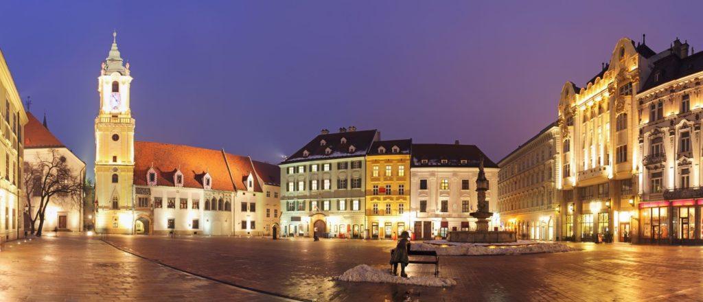 Hlavní náměstí v Bratislavě | tomas1111/123RF.com