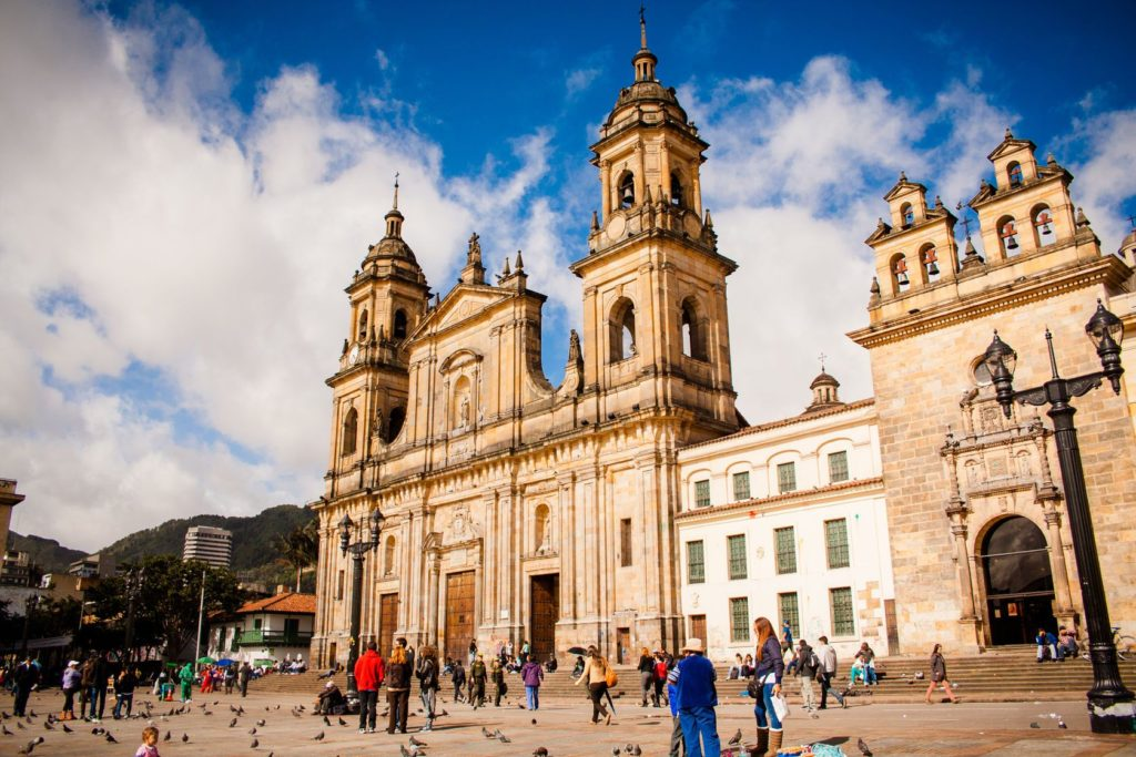 Katedrála Neposkvrněného početí v Bogotě | mardzpe/123RF.com