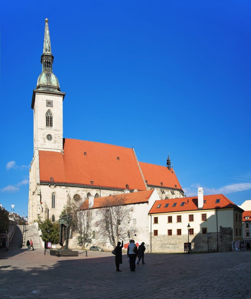 Katedrála svatého Martina v Bratislavě | klug/123RF.com