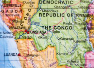 Kinshasa na mapě | suprunvitaly/123RF.com