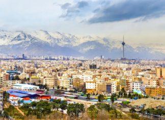 Letecký pohled na Teherán | elec/123RF.com