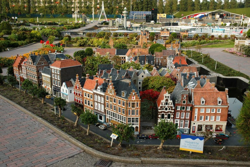Miniaturní město Madurodam v Haagu | miropink/123RF.com