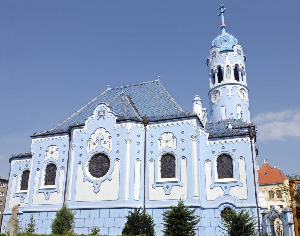 Modrý kostel v Bratislavě | geothea/123RF.com