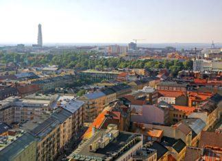 Panoramatický letecký pohled na Malmö | katatonia/123RF.com