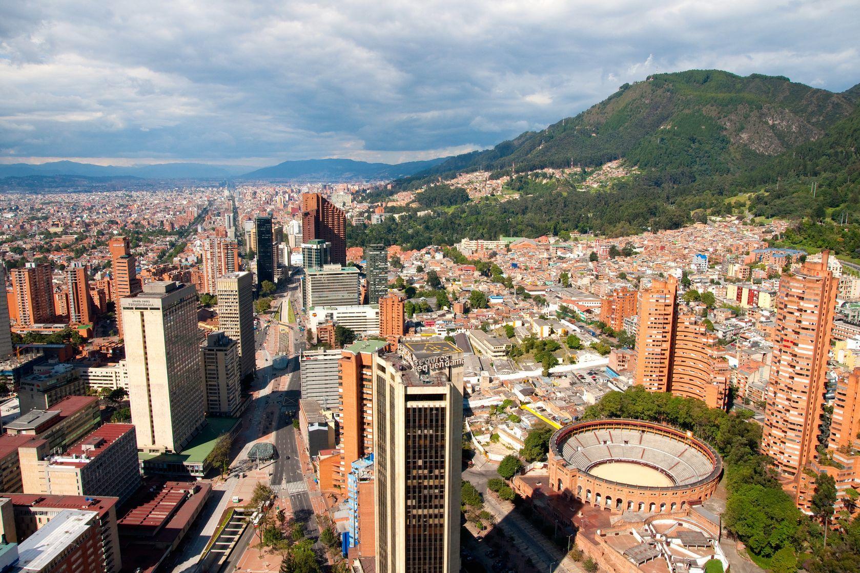 Pohled na Bogotu v Kolumbii | dejonghphotography/123RF.com