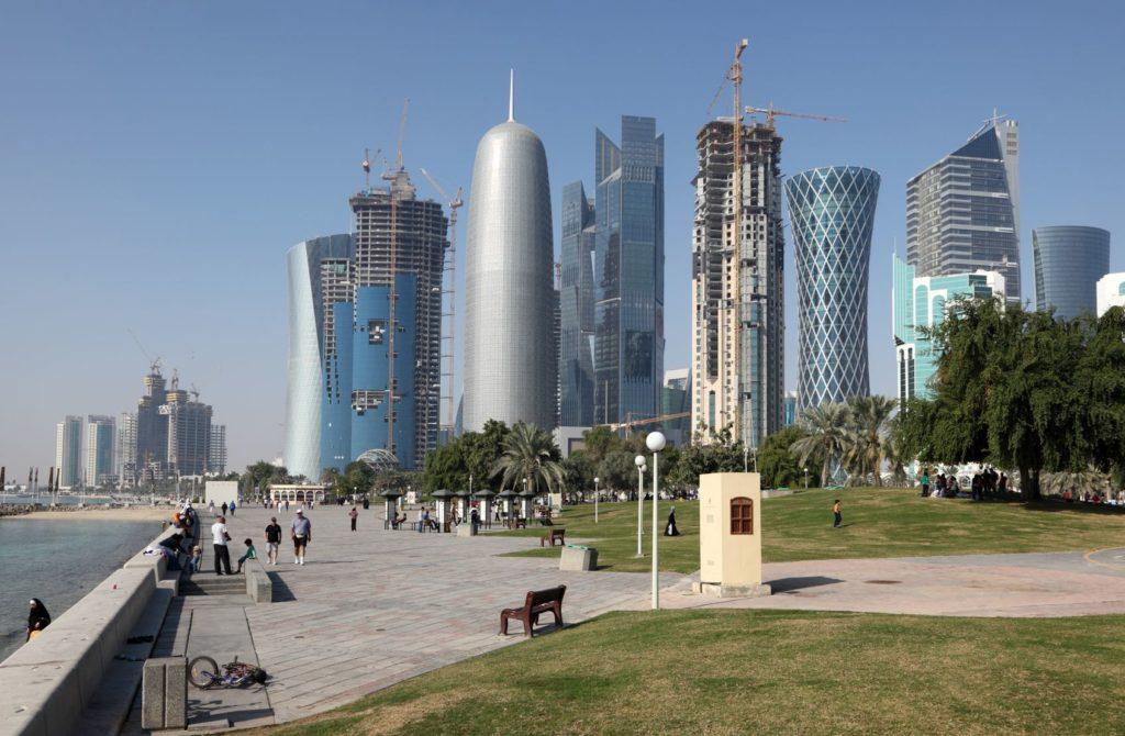 Promenáda Al-Corniche v Dauhá   philipus/123RF.com