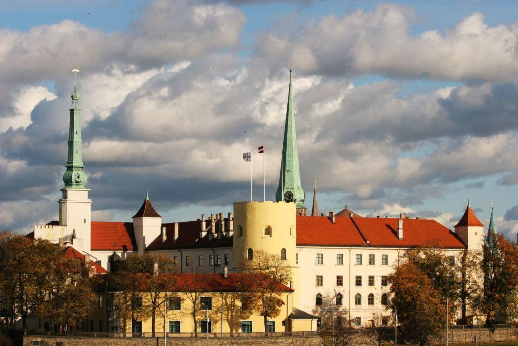 Rižský zámek v Lotyšsku | aje/123RF.com