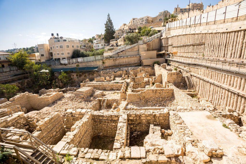 Archeologické naleziště v městě Davidově v Jeruzalémě | sopotniccy/123RF.com