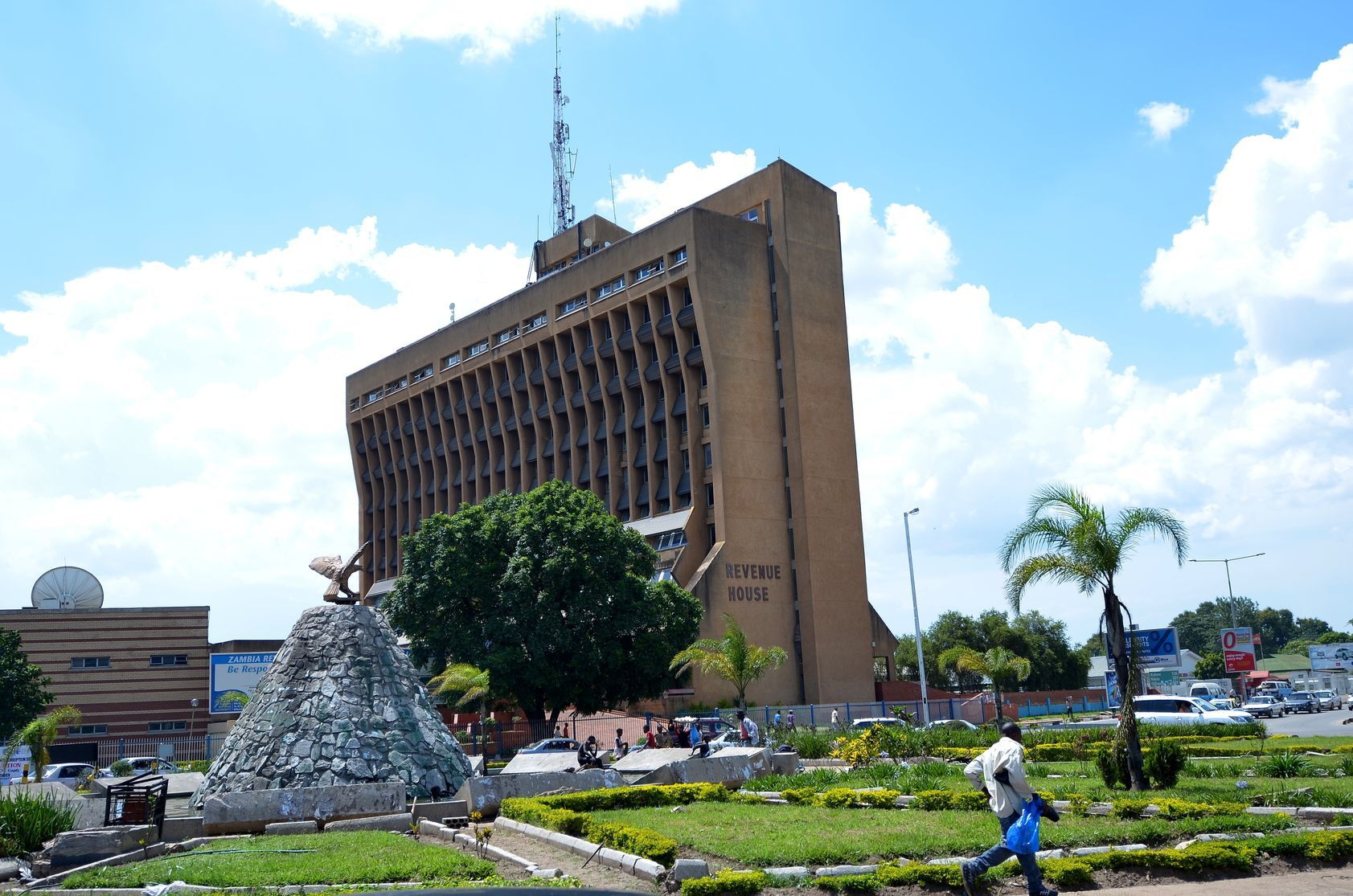Centrum Lusaky v Zambii   djembe/123RF.com