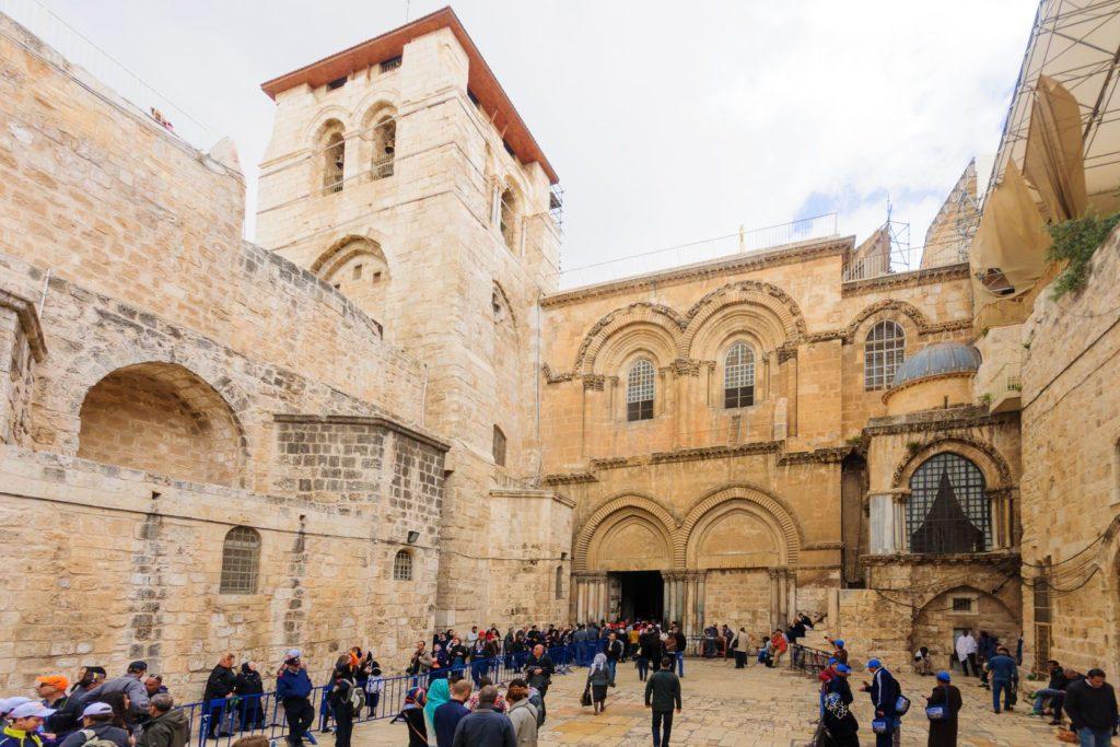 Chrám Božího hrobu v Jeruzalémě | rndms/123RF.com