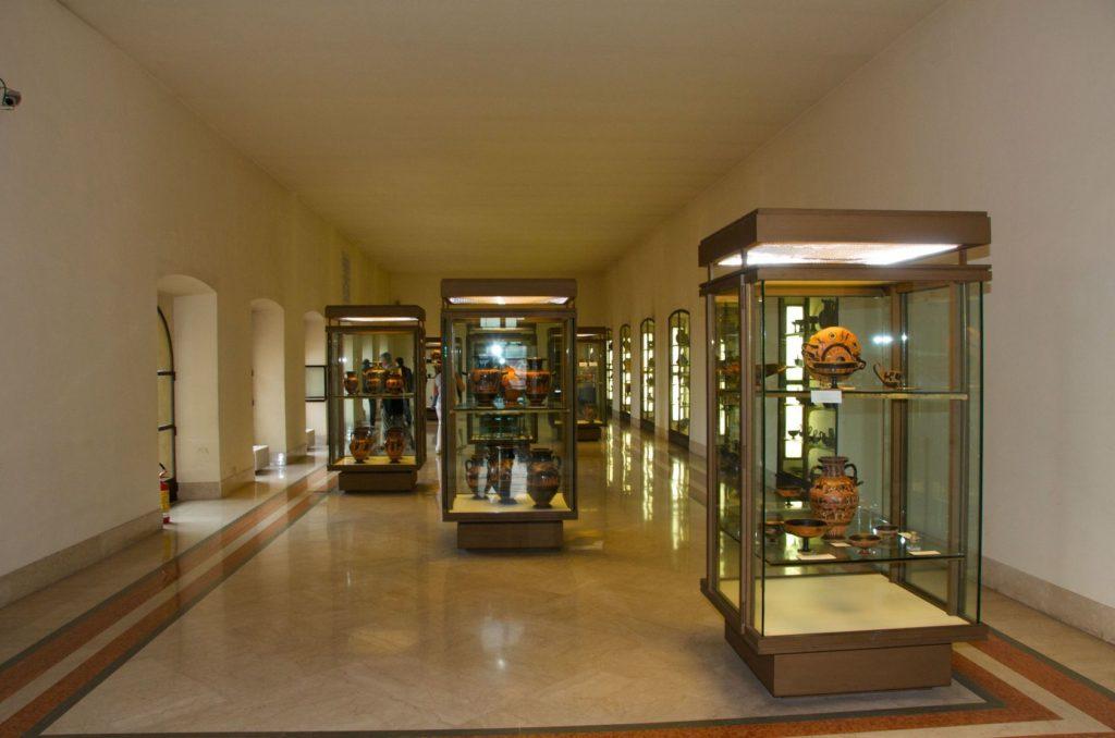 Interiér v Etruském muzeu ve Vatikánu | siopw/123RF.com
