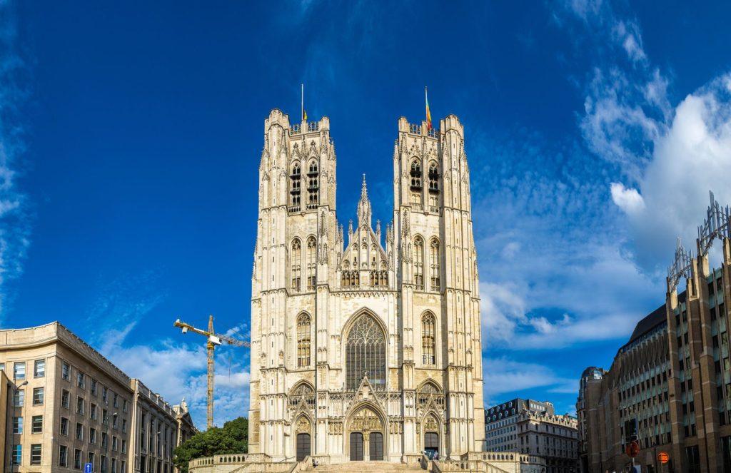 Katedrála svatého Michala a Gudula v Bruselu | bloodua/123RF.com