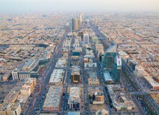 Letecký pohled na Rijád v Saudské Arábii | swisshippo/123RF.com