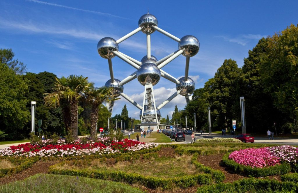Monument Atomium v Bruselu | chrisdorney/123RF.com